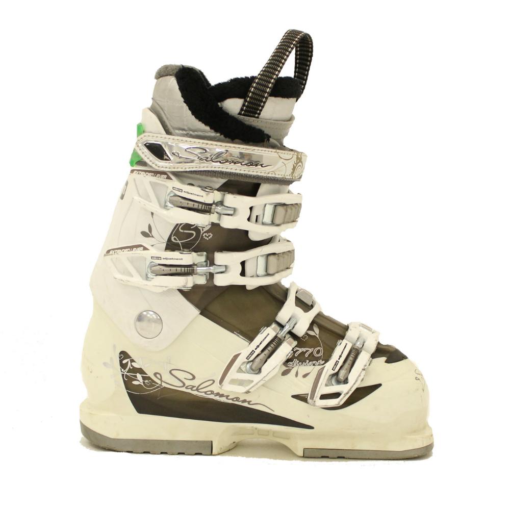 Used 2012 Womens Salomon Divine 770 Ski Boots SALE