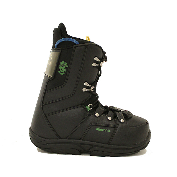 Used Youth Size Burton Progression Snowboard Boots Green Black, , 600