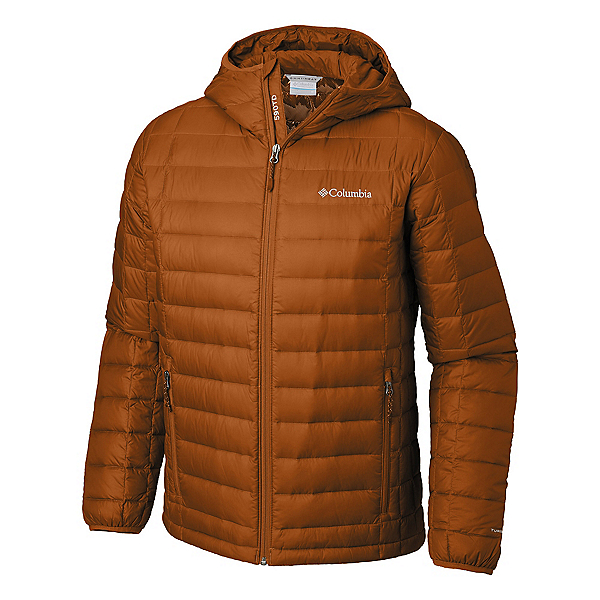 Columbia VooDoo Falls 590 TurboDown Hooded - Big Mens Jacket, Bright Copper, 600