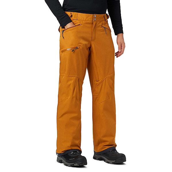 Columbia Cushman Crest Mens Ski Pants 2020, Burnished Amber Heather, 600