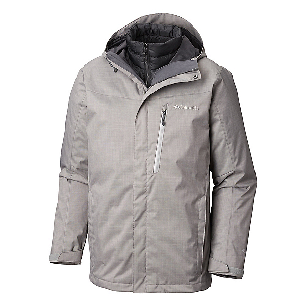 Columbia Whirlibird III Interchange - Tall Mens Insulated Ski Jacket, Boulder Melonage, 600