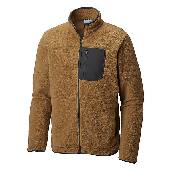 Columbia Rugged Ridge Sherpa Fleece Mens Jacket 2019, Delta Shark Buffalo, 600