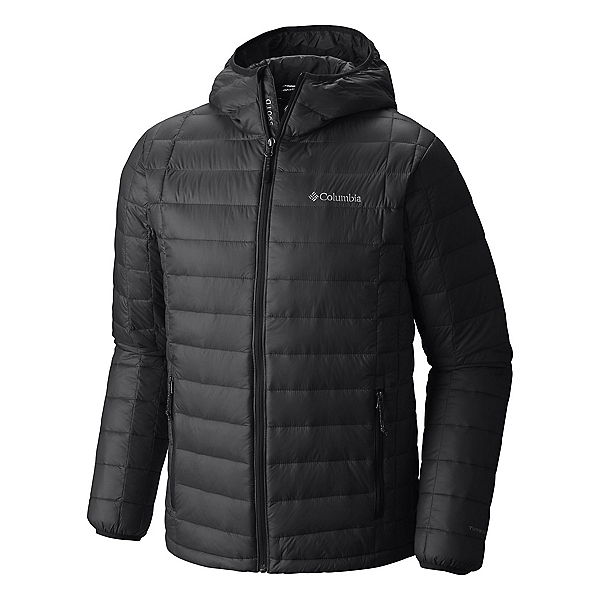 Columbia VooDoo Falls 590 TurboDown Hooded - Tall Mens Jacket, Black, 600