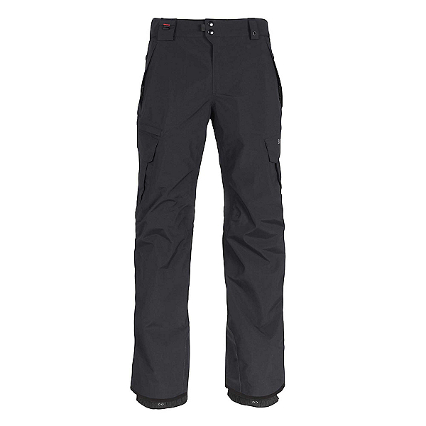 686 Smarty 3 in 1 Cargo Mens Snowboard Pants, Black, 600