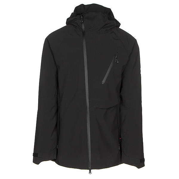 686 GLCR Hydra Thermagraph Mens Insulated Snowboard Jacket, Black, 600