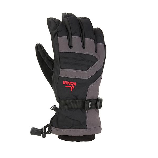 Kombi Storm Cuff III Kids Gloves 2020, Black-Gunmetal, 600