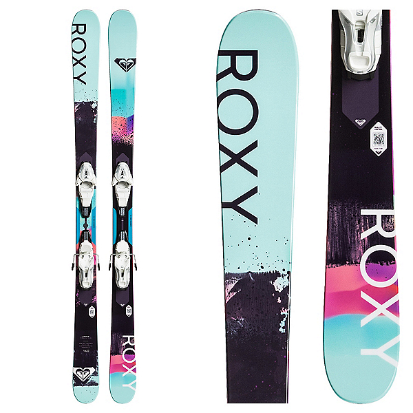 Roxy Shima Freestyle Womens Skis with Lithium 10 Bindings, , 600