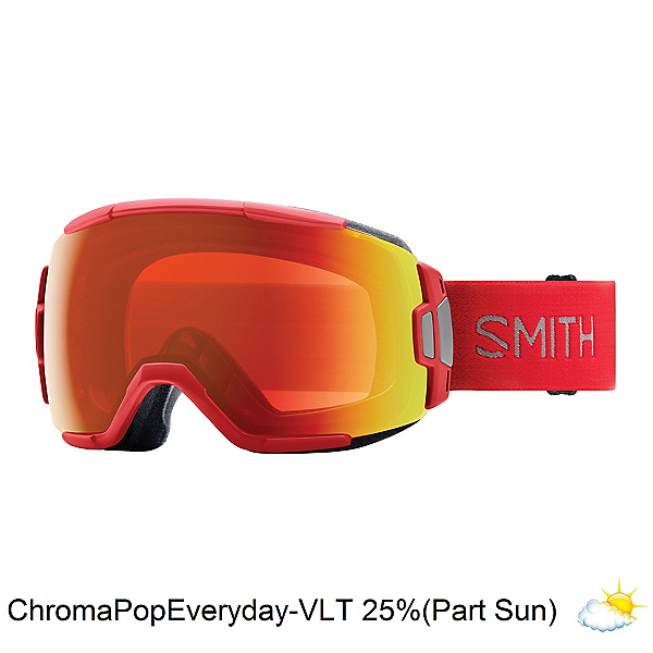 Smith Vice Goggles 2019, Rise-Chromapop Everyday Red Mi, 600