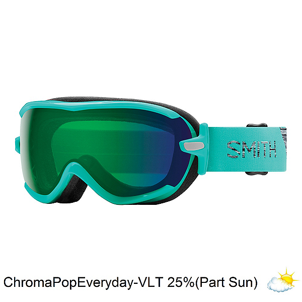 Smith Virtue Womens Goggles, Opal-Chromapop Everyday Green, 600