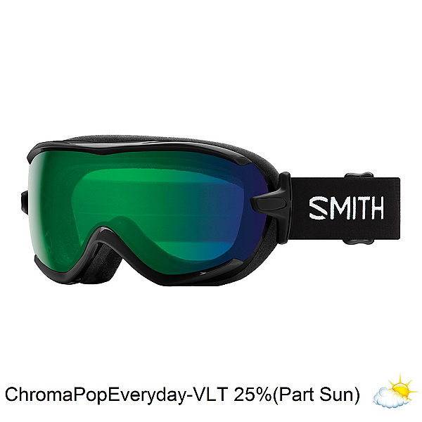 Smith Virtue Womens Goggles 2020, Black-Chromapop Everyday Green, 600