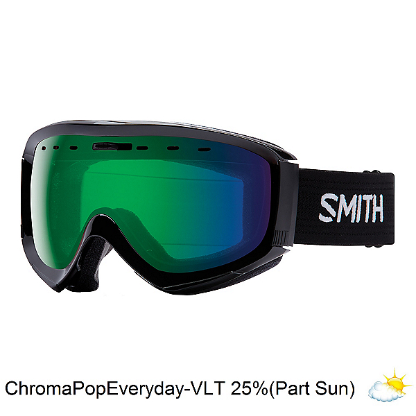 Smith Prophecy OTG Goggles, Black-Chromapop Everyday Green, 600