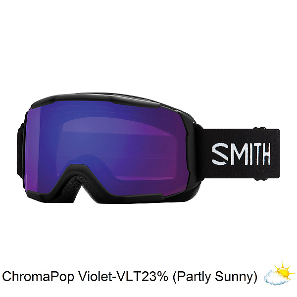 Smith Showcase Womens OTG Goggles 2020, Black-Chromapop Everyday Viole, 600