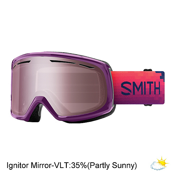 Smith Drift Womens Goggles 2019, Monarch Reset-Ignitor Mirror, 600