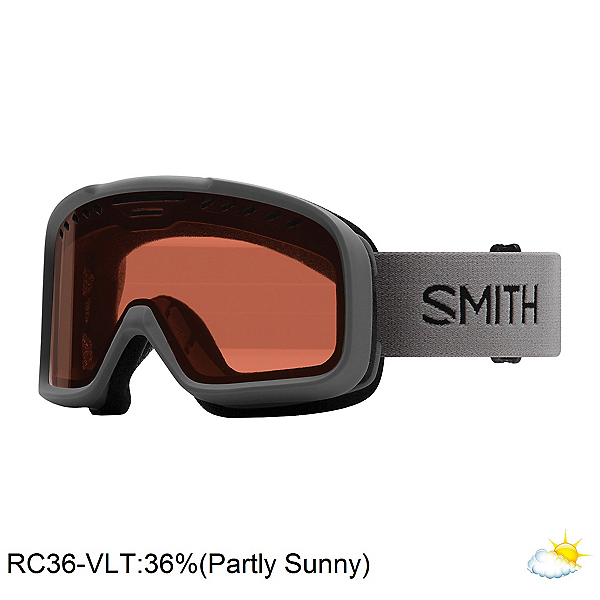 Smith Project Goggles 2020, Charcoal-Rc36, 600