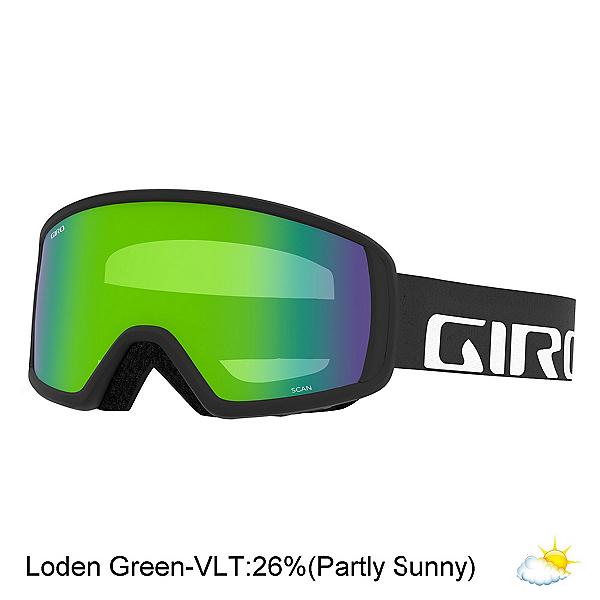 Giro Scan Goggles 2020, Black Wordmark-Loden Green, 600