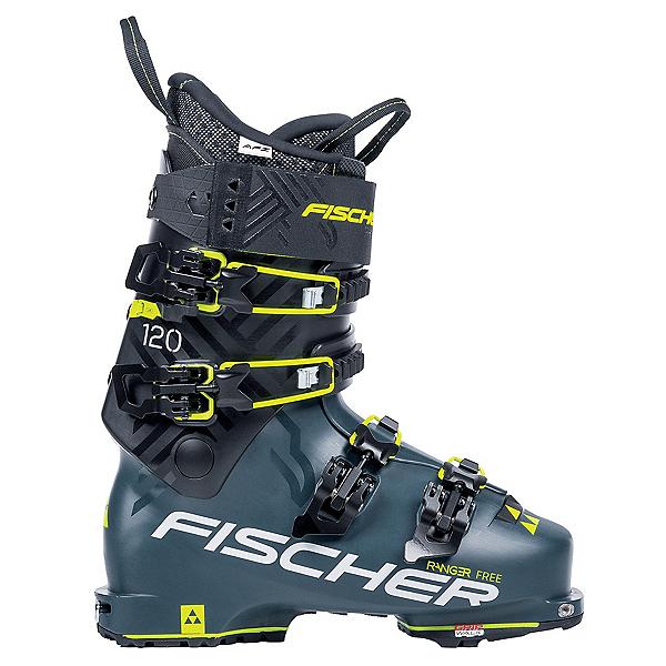 Fischer Ranger Free 120 Ski Boots, Black-Petrol, 600