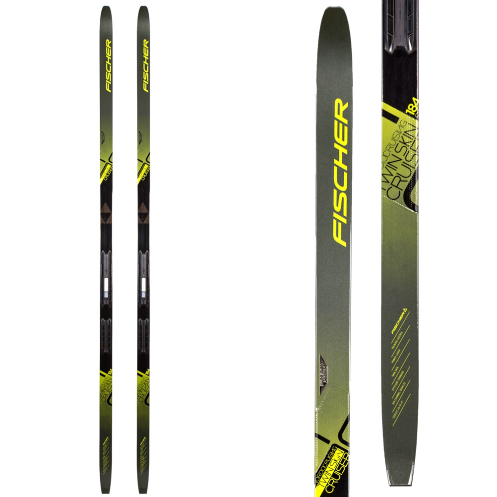 Fischer Twin Skin Cruiser EF Cross Country Skis im test