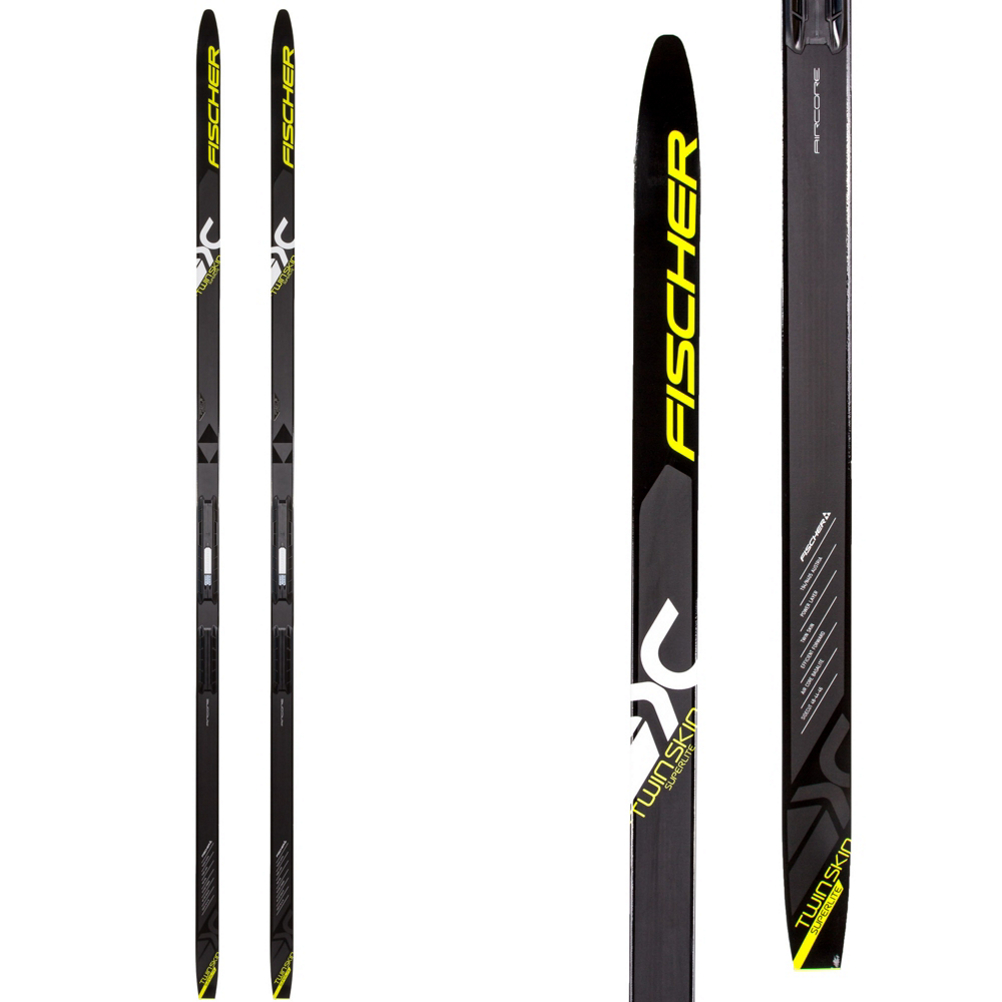 Fischer Twin Skin Superlite EF Cross Country Skis im test