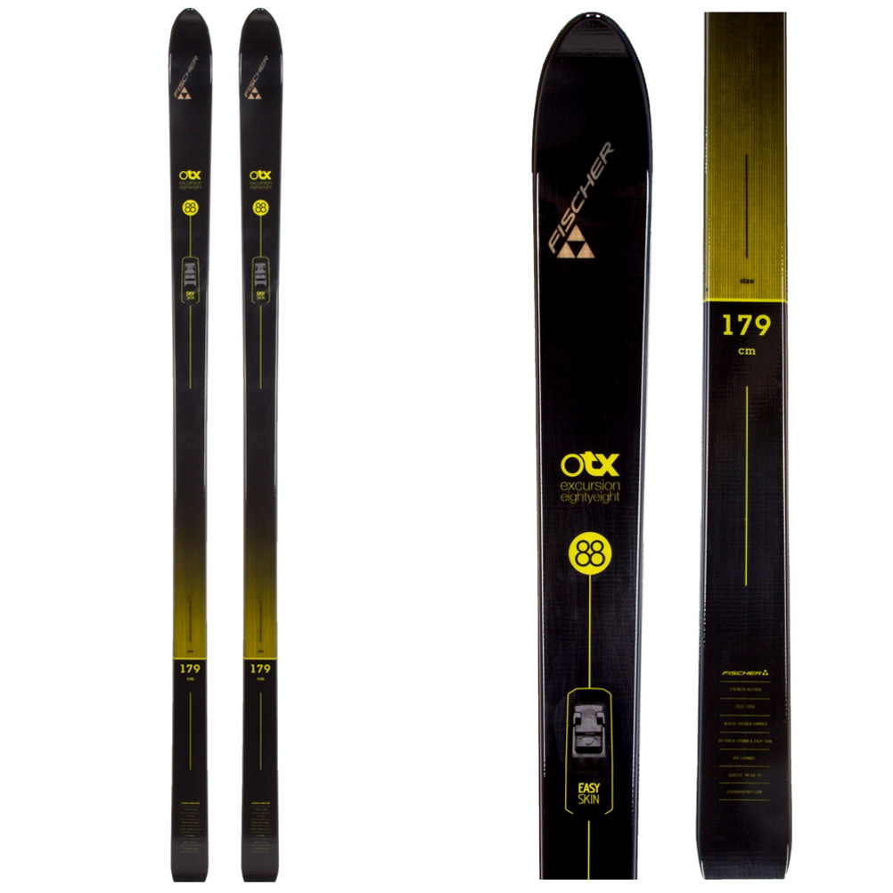 Image of Fischer Excursion 88 Crown Cross Country Skis 2020