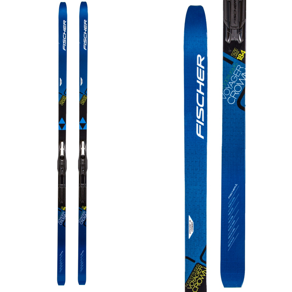 Fischer Voyager EF Cross Country Skis with Bindings 2020 im test