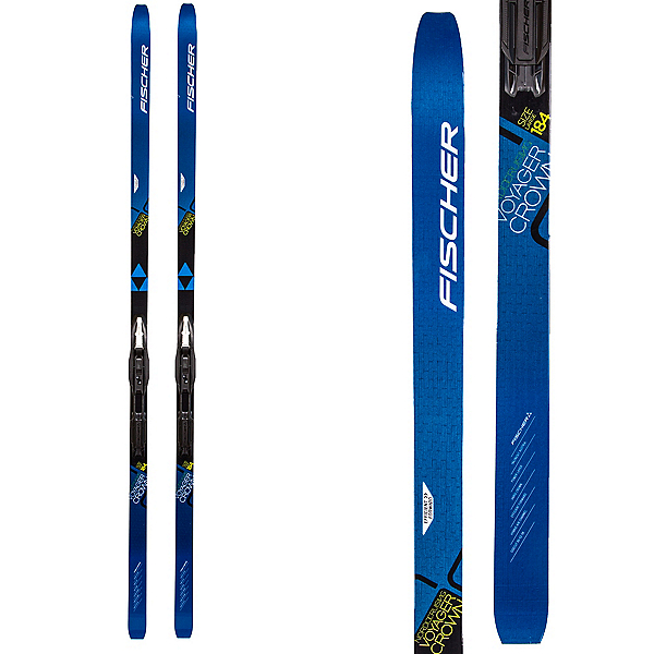 Fischer Voyager EF Cross Country Skis with Bindings, , 600