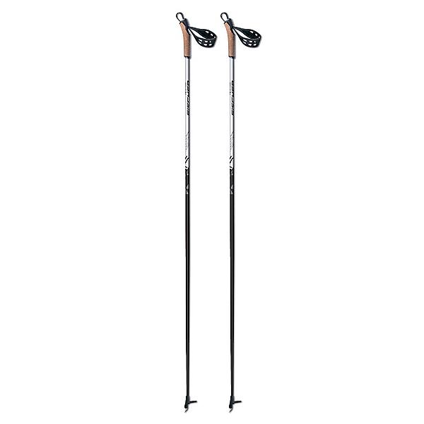Fischer XC Cruiser Cross Country Ski Poles 2020, Black-White, 600