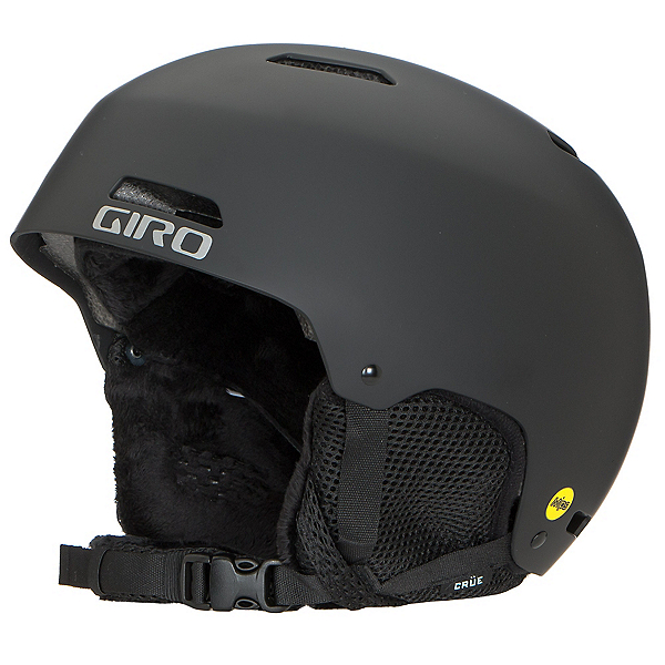 Giro Crue MIPS Kids Helmet, Matte Black, 600