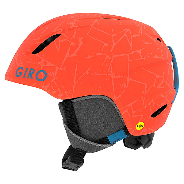Giro Launch MIPS Kids Helmet 2019, Matte Vermillion Rock, 600