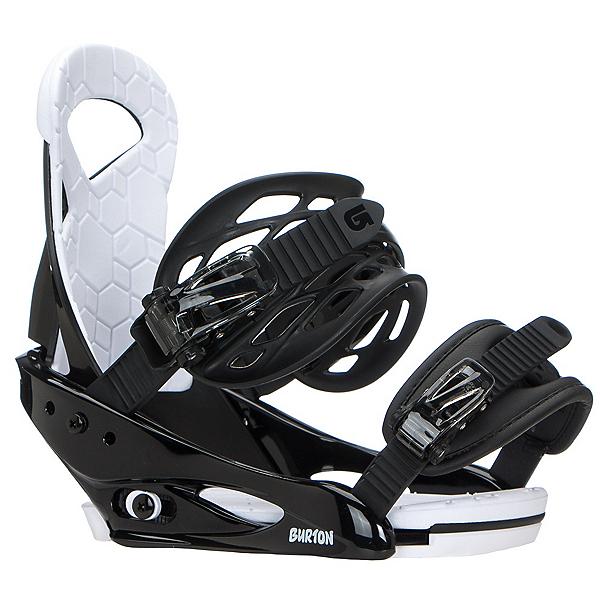 Burton Smalls Kids Snowboard Bindings, Black, 600