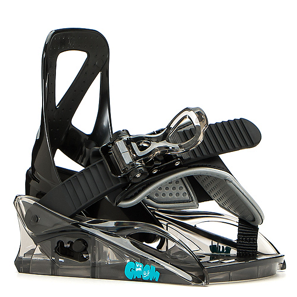Burton Grom Kids Snowboard Bindings 2020, Black, 600