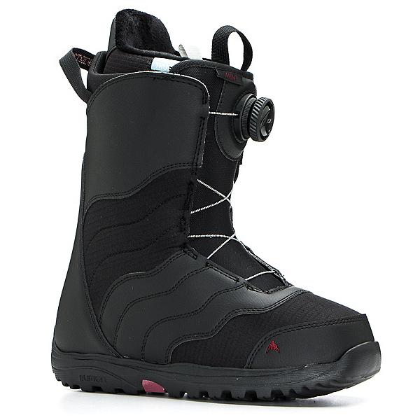 Burton Mint Boa Womens Snowboard Boots 2020, Black, 600
