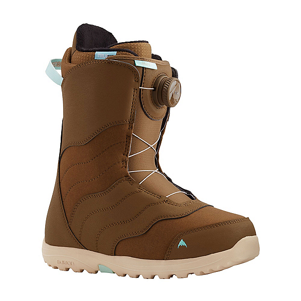 Burton Mint Boa Womens Snowboard Boots, Brown, 600