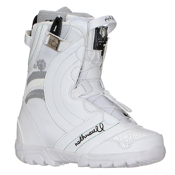 Northwave Dahlia Womens Snowboard Boots, White, 600