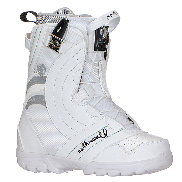 Northwave Dahlia Womens Snowboard Boots, White-Silver, 600
