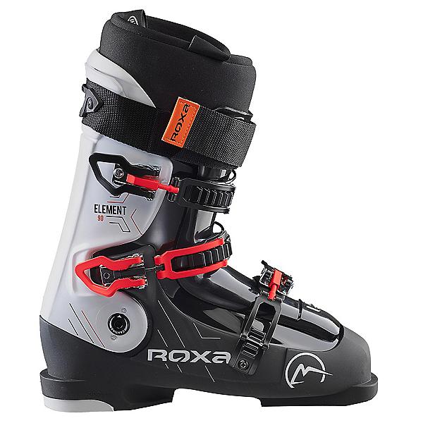 ROXA Element 90 Ski Boots, Black-White-Black, 600