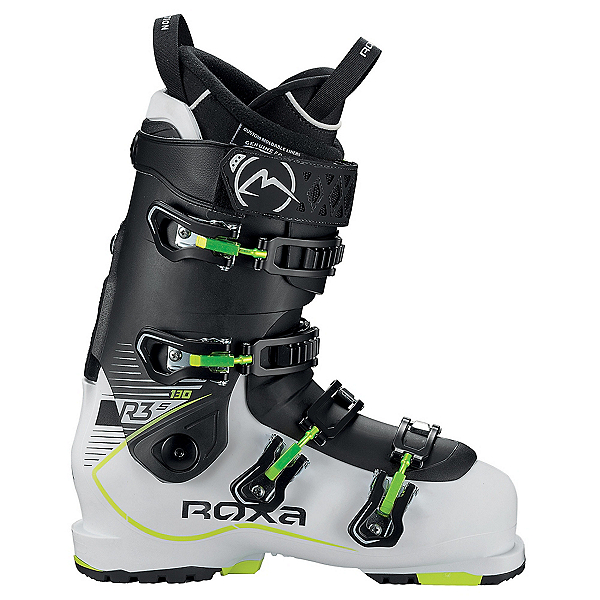 ROXA R3S 130 Ski Boots, White-Black-Black, 600