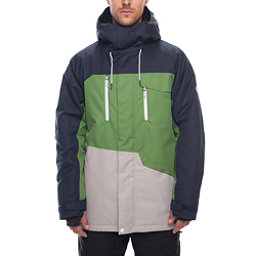 Colorswatch30 686 Geo Mens Insulated Snowboard Jacket Navy Colorblock 256
