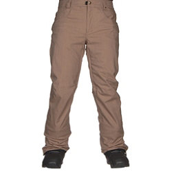 686 Raw Insulated Mens Snowboard Pants Khaki Denim 256