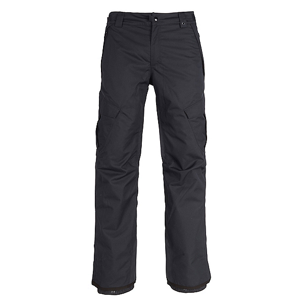 686 Infinity Insulated Cargo Mens Snowboard Pants, Black, 600