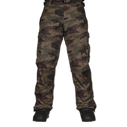 686 Infinity Insulated Cargo Mens Snowboard Pants Dark Camo 256