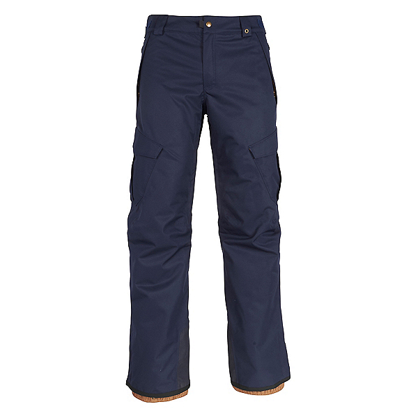 686 Infinity Insulated Cargo Mens Snowboard Pants, Navy, 600
