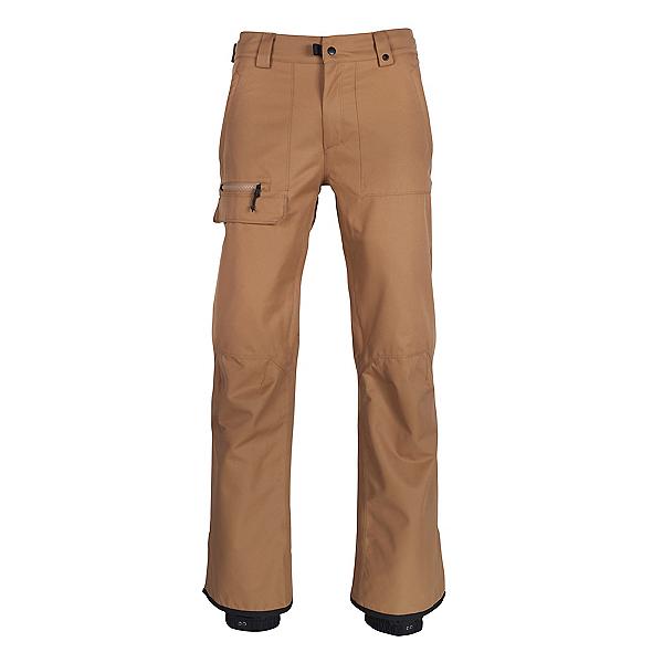 686 Vice Shell Mens Snowboard Pants 2019, Khaki, 600