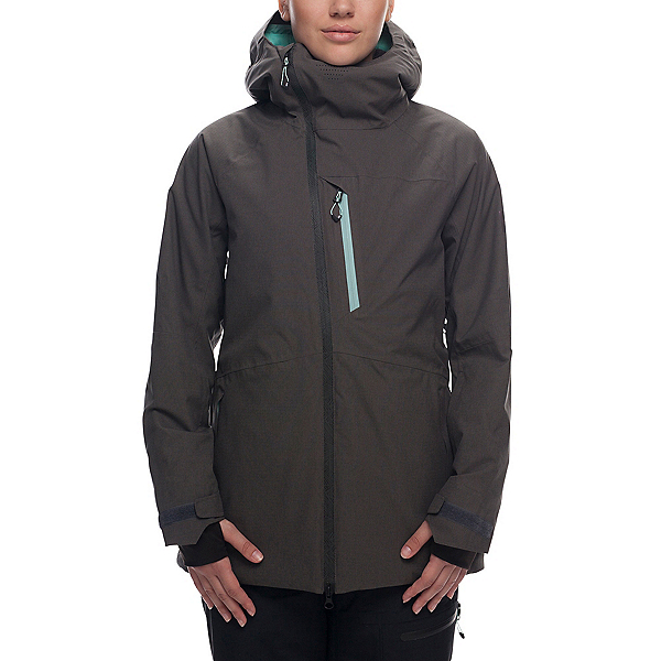 686 Hydra Womens Insulated Snowboard Jacket, Charcoal, 600