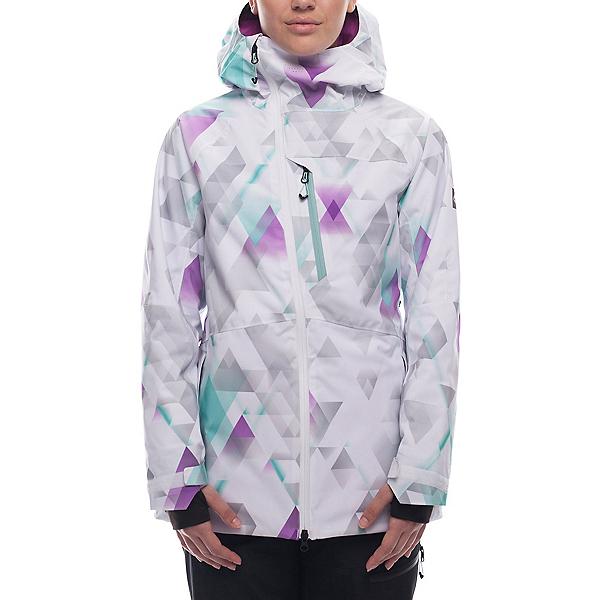 686 Hydra Womens Insulated Snowboard Jacket, Geo Fade, 600