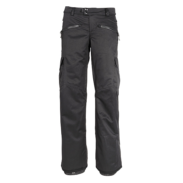 686 Mistress Cargo Womens Snowboard Pants, Black, 600