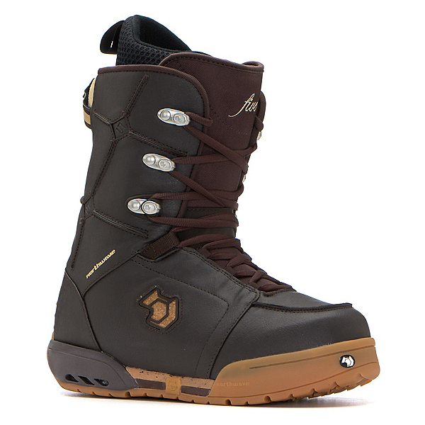 Northwave Five Snowboard Boots, Dark Brown, 600