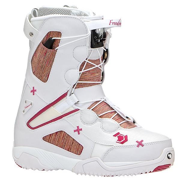 Northwave Freedom SL Womens Snowboard Boots, White Piink, 600