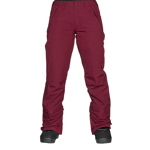 Burton Society Womens Snowboard Pants, Port Royal Heather, 600