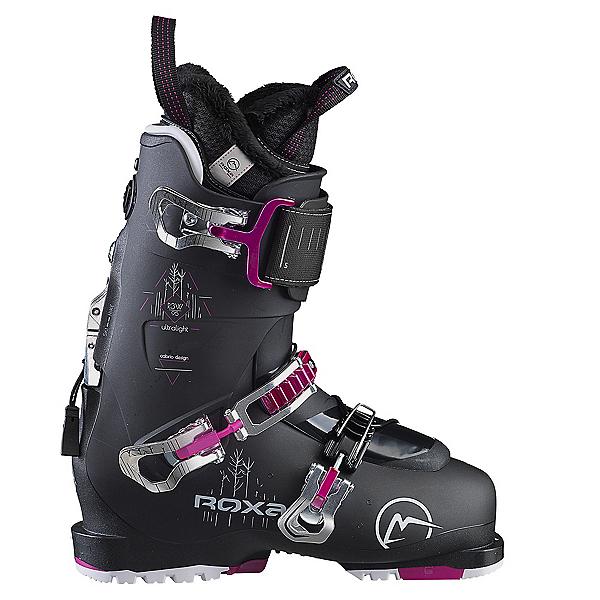 ROXA R3W 95 Womens Ski Boots, Black-Black-Black, 600