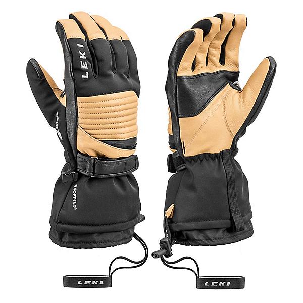 Leki Xplore XT S Gloves, Tan-Black, 600